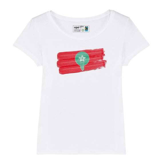 T-shirt femme Maroc Lions de l'Atlas Can 2019