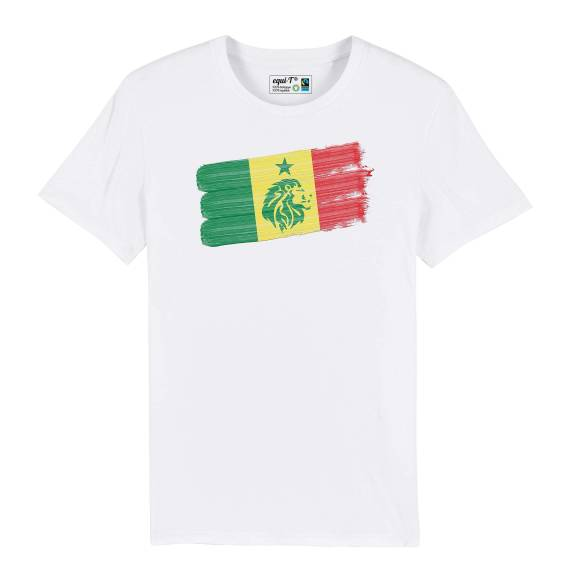 T-shirt homme senegal lions de la teranga - can 2019