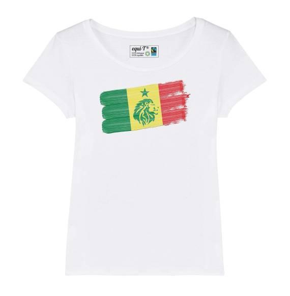 T-shirt femme Sénégal Lions de la teranga can 2019