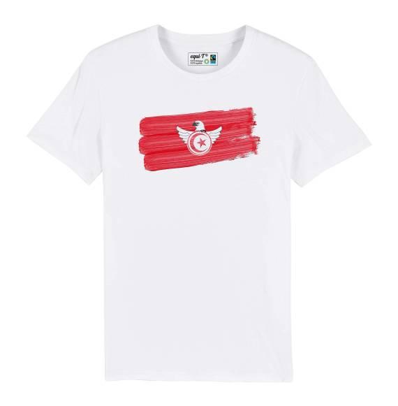 T-shirt homme Tunisie aigles de carthage can 2019