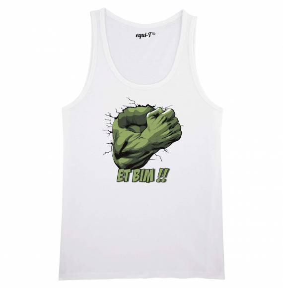 Débardeur homme original hulk - avengers