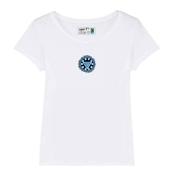 T-shirt femme original iron man - avengers