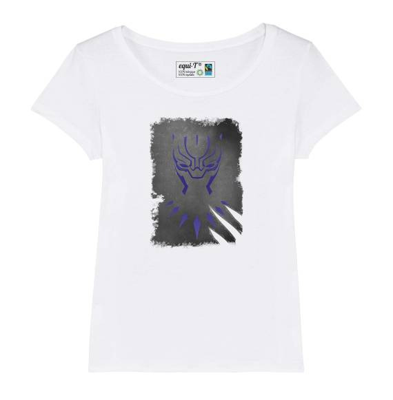 T-shirt femme original black panther - avengers
