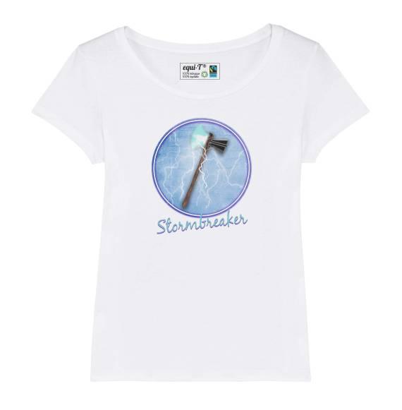 T-shirt femme original thor stormbreaker - avengers