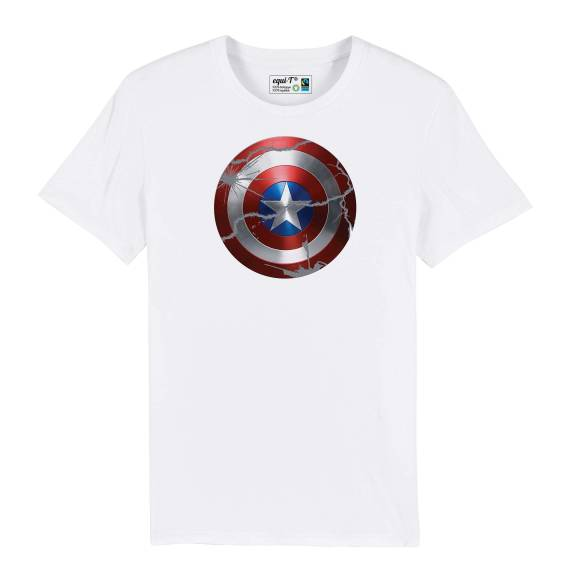 T-shirt homme original captain america bouclier - avengers