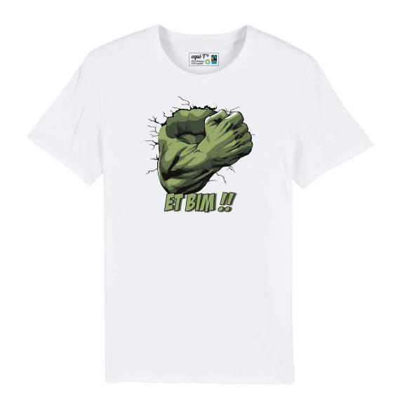 T-shirt homme original hulk - avengers