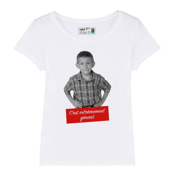 T-shirt original femme dewey poupi