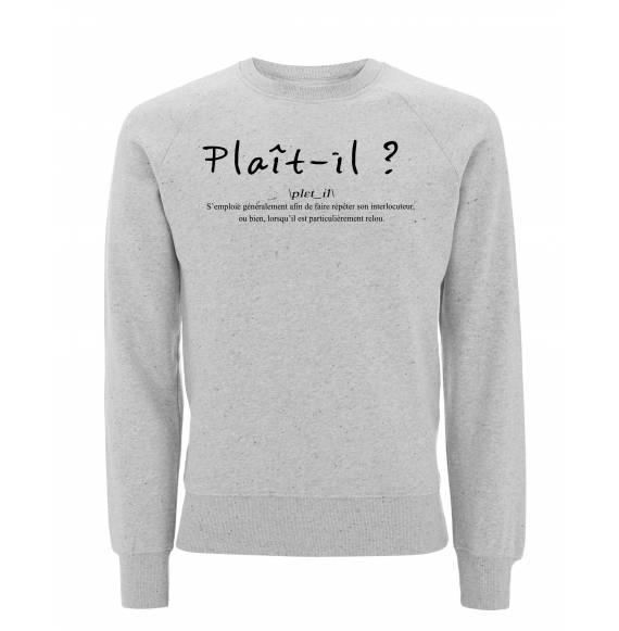 sweat original plait-il