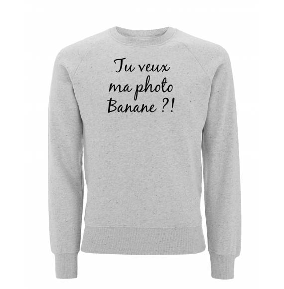 Sweat Retour vers le futur - Tu veux ma photo banane !