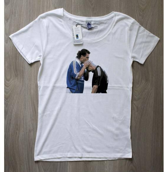 T-shirt femme Blanc & Barthez