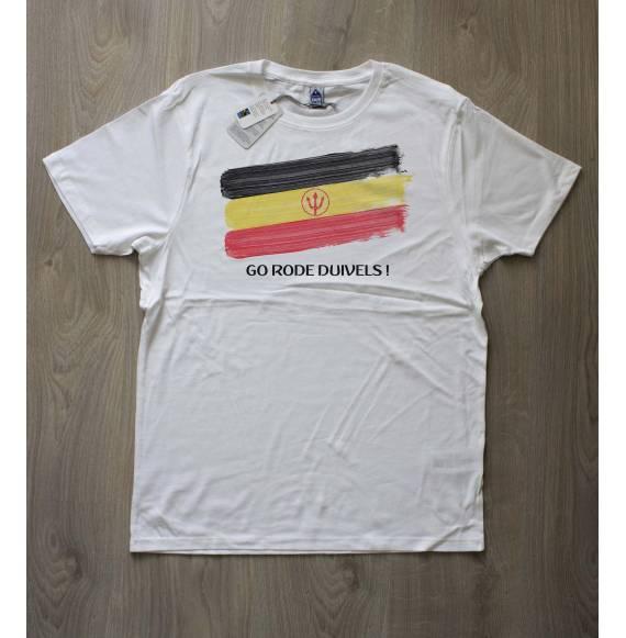 T-shirt homme belgique coupe du monde