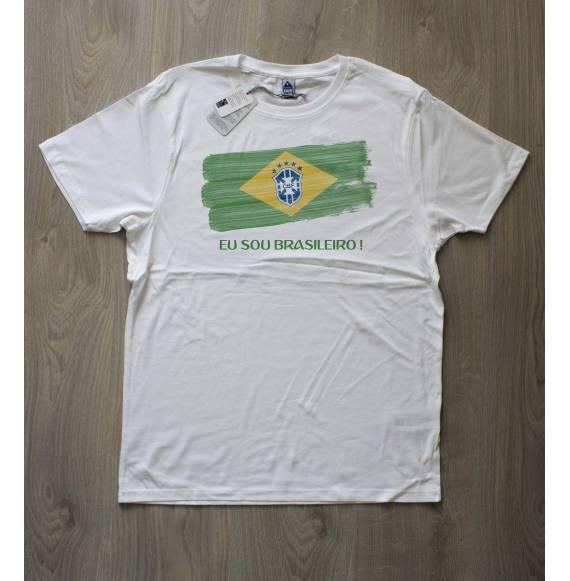 T-shirt homme coupe du monde brésil