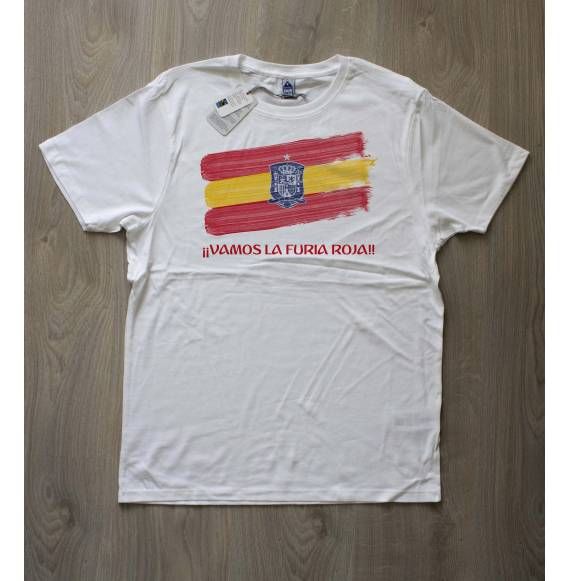 T-shirt homme espagne coupe du monde