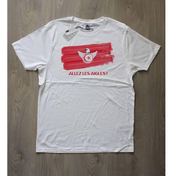 T-shirt homme coupe du monde tunisie