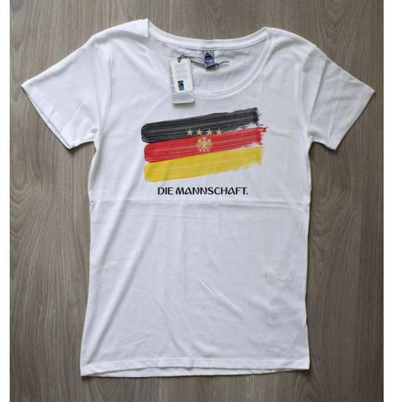 T-shirt femme coupe du monde Allemagne
