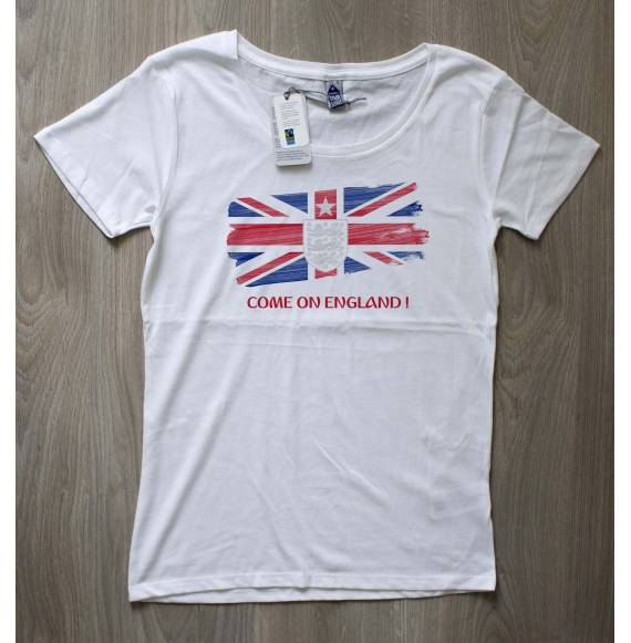 T-shirt femme coupe du monde Angleterre