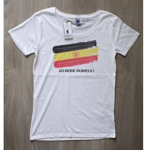 T-shirt femme coupe du monde belgique