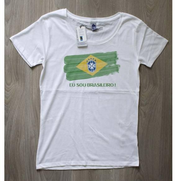 T-shirt femme coupe du monde brésil