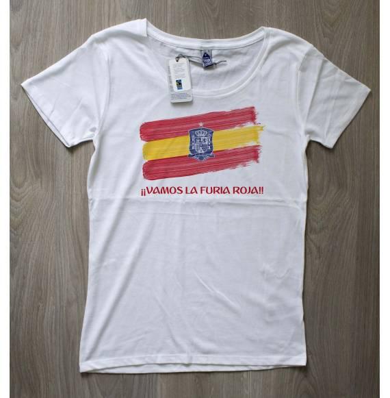 T-shirt femme coupe du monde espagne