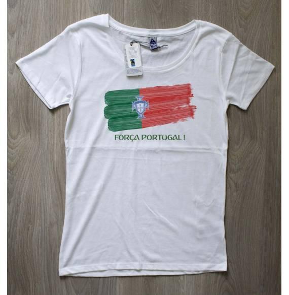 T-shirt femme coupe du monde portugal