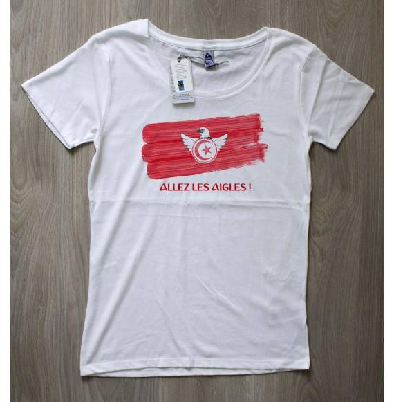 T-shirt femme coupe du monde tunisie