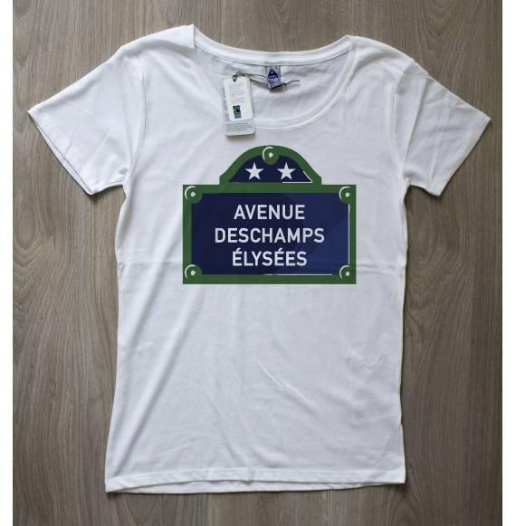 T-shirt femme Avenue Deschamps elysees