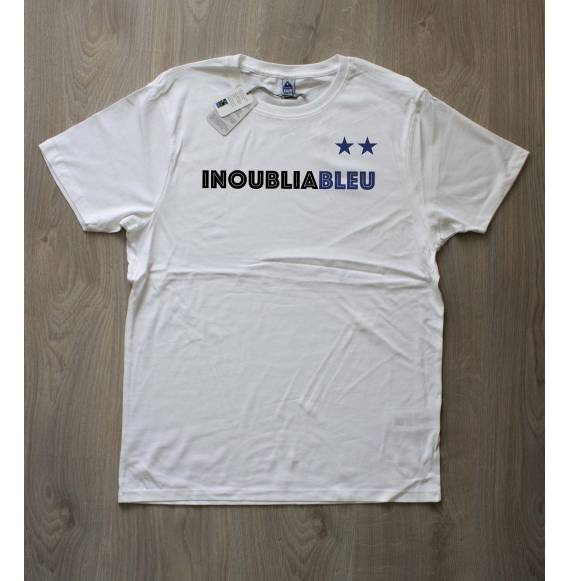 T-shirt homme Ca finit en bleu